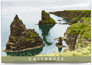 Caithness: Stacks of Duncansby – magnet