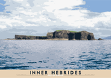 Inner Hebrides: Isle of Staffa – giclée print - natural - Indy Prints by Stewart Bremner