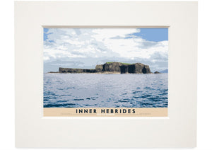 Inner Hebrides: Isle of Staffa – small mounted print