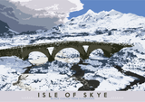Isle of Skye: Black Cuillin from Sligachan – giclée print - natural - Indy Prints by Stewart Bremner