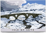 Isle of Skye: Black Cuillin from Sligachan – magnet - natural - Indy Prints by Stewart Bremner