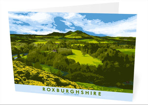 Roxburghshire: Scott's View – card