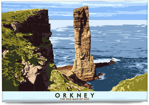 Orkney: The Old Man of Hoy – magnet