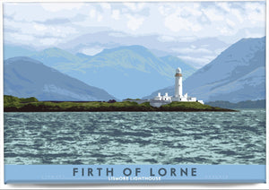 Firth of Lorne: Lismore Lighthouse – magnet