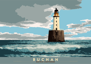Buchan: Rattray Lighthouse – poster