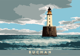 Buchan: Rattray Lighthouse – poster - natural - Indy Prints by Stewart Bremner