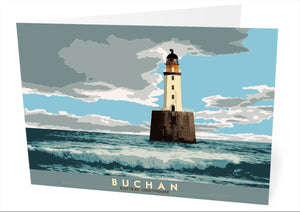 Buchan: Rattray Lighthouse – card