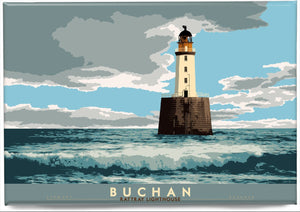 Buchan: Rattray Lighthouse – magnet - Indy Prints by Stewart Bremner