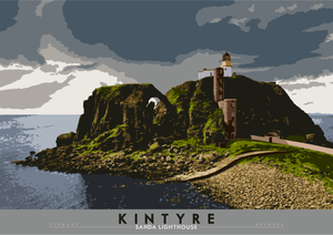 Kintyre: Sanda Lighthouse – giclée print