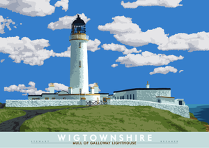 Wigtownshire: Mull of Galloway Lighthouse – giclée print