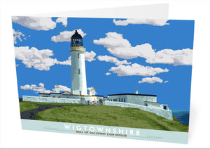 Wigtownshire: Mull of Galloway Lighthouse – card
