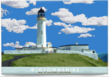 Wigtownshire: Mull of Galloway Lighthouse – magnet - natural - Indy Prints by Stewart Bremner