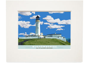 Wigtownshire: Mull of Galloway Lighthouse – small mounted print