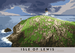 Isle of Lewis: Flannan Isles Lighthouse – poster