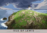 Isle of Lewis: Flannan Isles Lighthouse – poster - natural - Indy Prints by Stewart Bremner