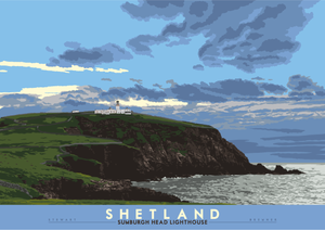Shetland: Sumburgh Head Lighthouse – giclée print