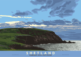 Shetland: Sumburgh Head Lighthouse – giclée print - natural - Indy Prints by Stewart Bremner