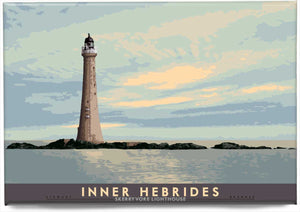 Inner Hebrides: Skerryvore Lighthouse – magnet