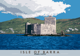 Isle of Barra: Kisimul Castle – poster - natural - Indy Prints by Stewart Bremner