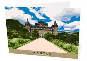 Argyll: Inverary Castle – card - Indy Prints by Stewart Bremner