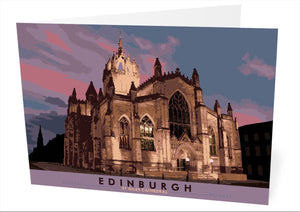Edinburgh: St Giles Cathedral – card