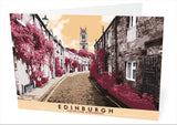 Edinburgh: Circus Lane, Stockbridge – card - Indy Prints by Stewart Bremner