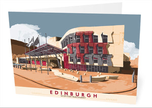 Edinburgh: Scottish Parliament – card
