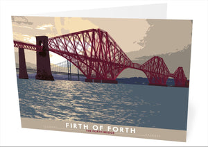 Firth of Forth: the Forth Bridge – card