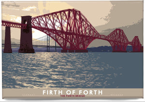 Firth of Forth: the Forth Bridge – magnet