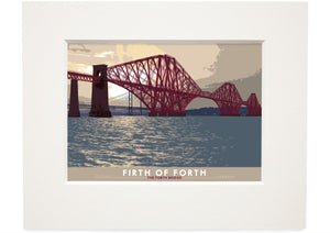 Firth of Forth: the Forth Bridge – small mounted print
