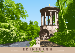 Edinburgh: St Bernard's Well – poster