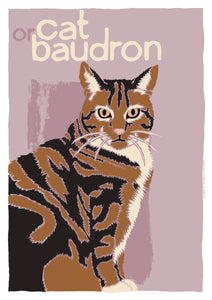 Cat or baudron – poster