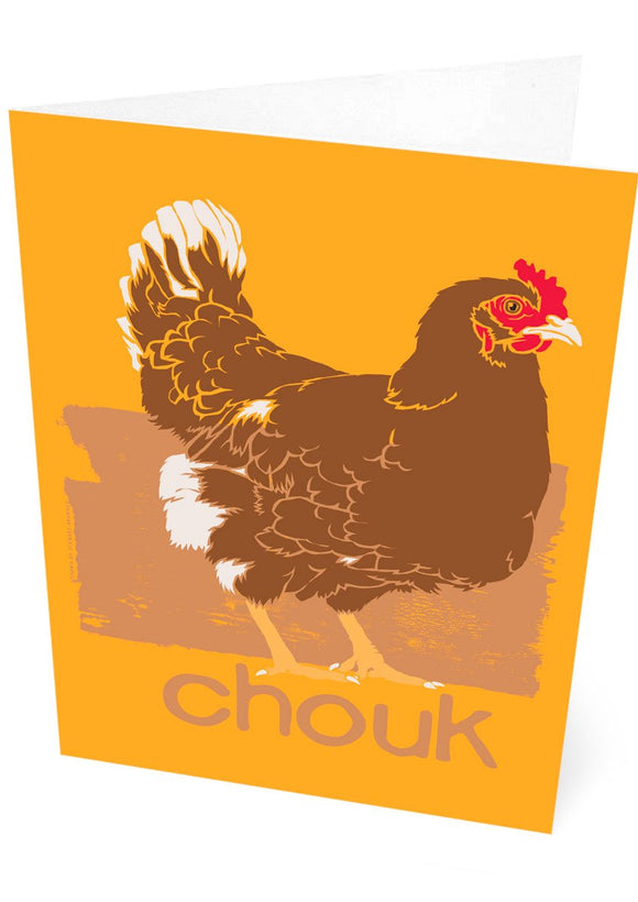 Chouk – card – Indy Prints by Stewart Bremner