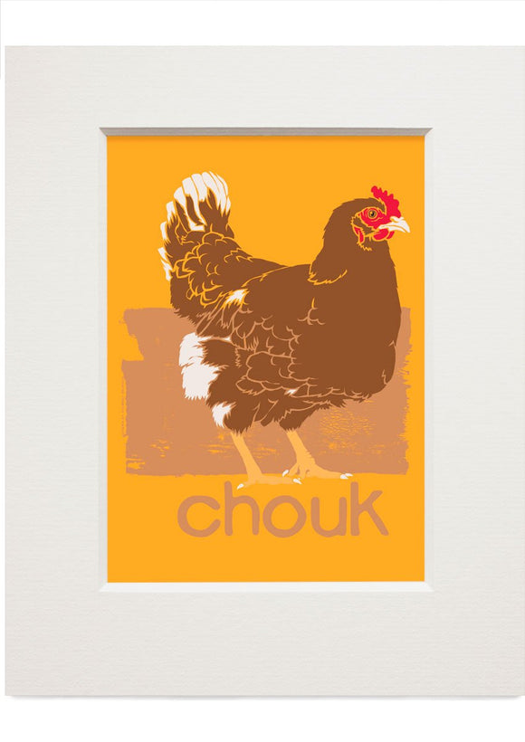Chouk – small mounted print - Indy Prints by Stewart Bremner
