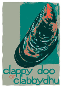 Clappy doo or clabbydhu – giclée print – Indy Prints by Stewart Bremner