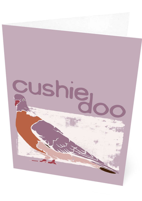 Cushie doo – card – Indy Prints by Stewart Bremner