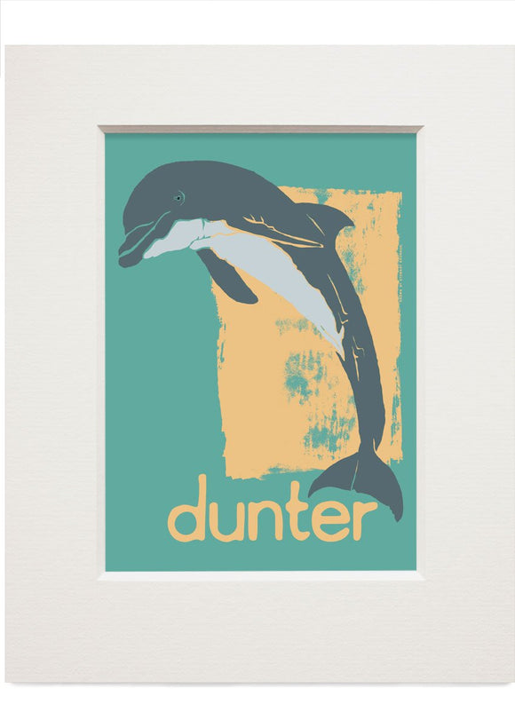Dunter – small mounted print - Indy Prints by Stewart Bremner