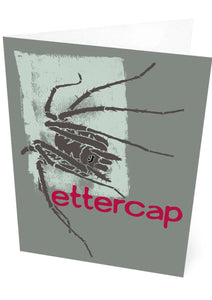 Ettercap – card – Indy Prints by Stewart Bremner