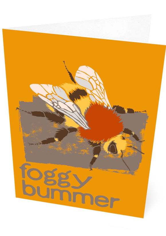 Foggy bummer – card – Indy Prints by Stewart Bremner