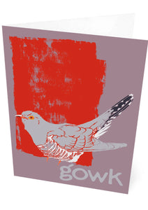Gowk – card – Indy Prints by Stewart Bremner