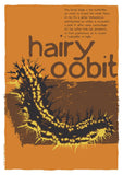 Hairy oobit – poster – Indy Prints by Stewart Bremner