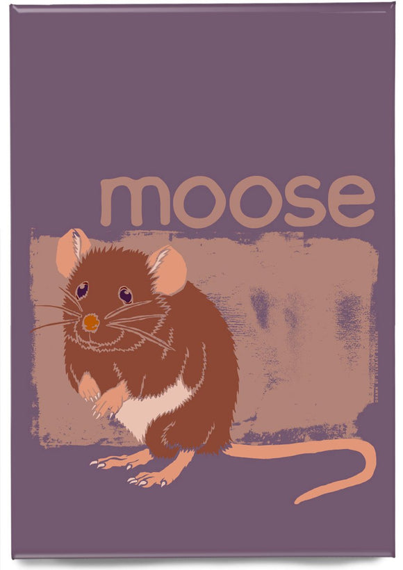 Moose – magnet – Indy Prints by Stewart Bremner