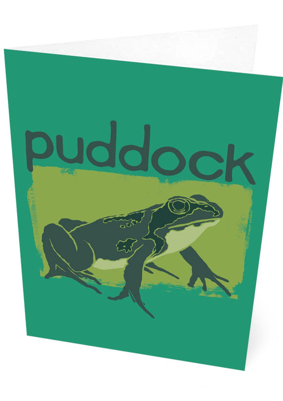 Puddock – card – Indy Prints by Stewart Bremner