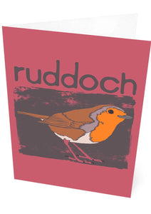 Ruddoch – card – Indy Prints by Stewart Bremner