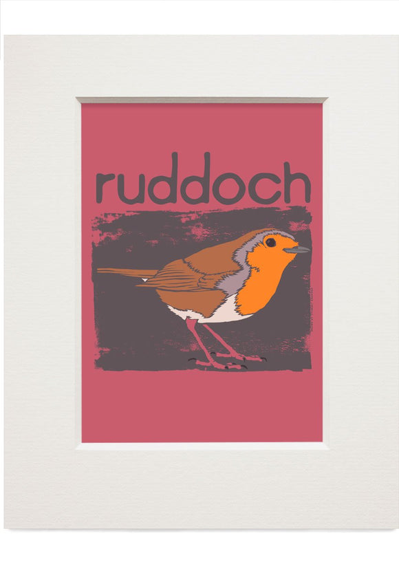 Ruddoch – small mounted print - Indy Prints by Stewart Bremner