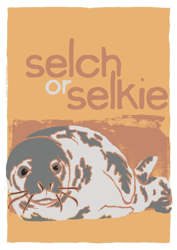 Selch or selkie – poster – Indy Prints by Stewart Bremner