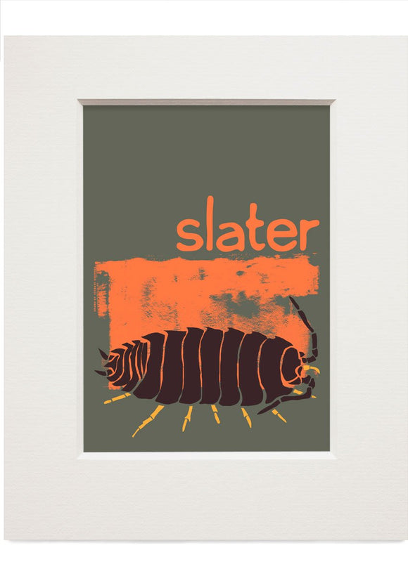 Slater – small mounted print - Indy Prints by Stewart Bremner
