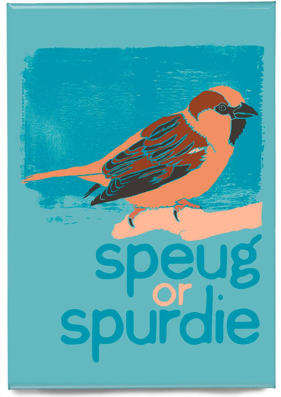 Speug or spurdie – magnet – Indy Prints by Stewart Bremner