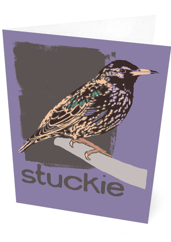 Stuckie – card – Indy Prints by Stewart Bremner