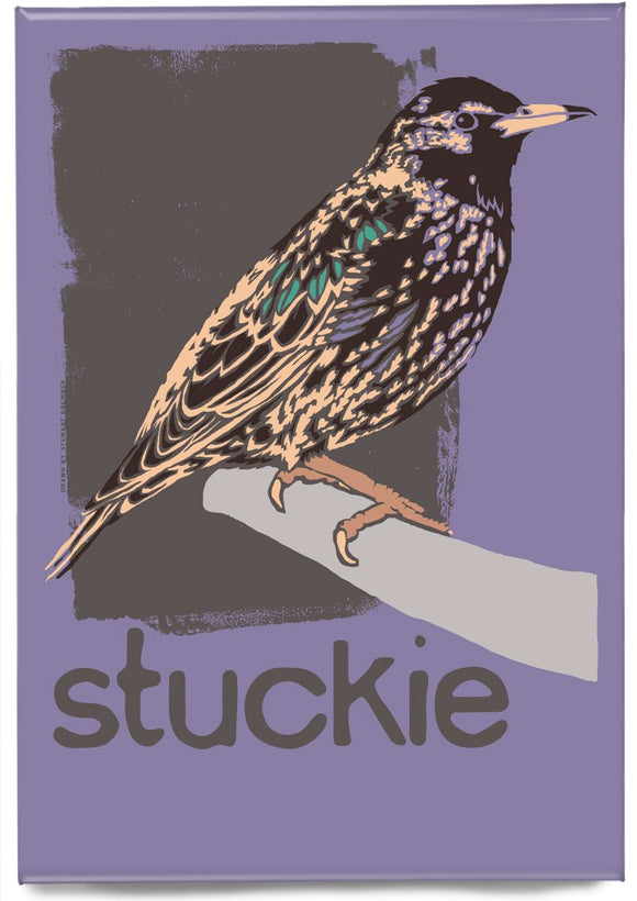 Stuckie – magnet – Indy Prints by Stewart Bremner